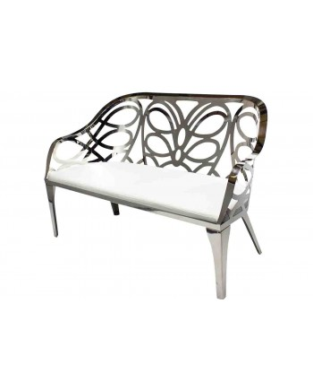 Reflection Love Seat Butterfly (Silver)