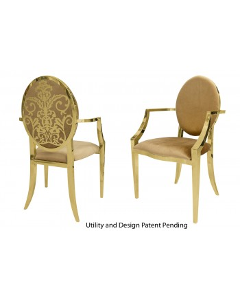 Dior Armchair (Gold-Gold)