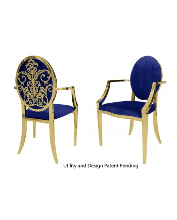 Dior Armchair (Gold-Royal)