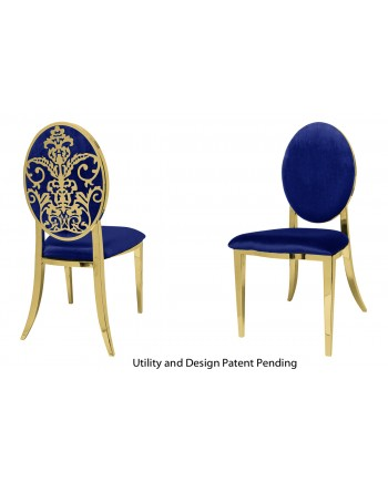 Dior Chair (Gold-Royal)