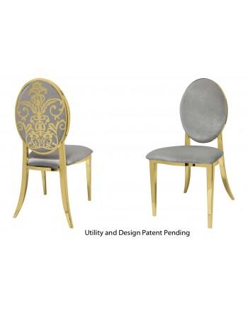 Dior Chair (Gold-Silver)