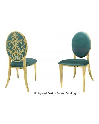 Dior Chair (Gold-Tiffany)