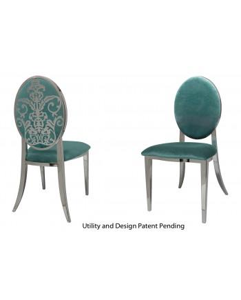 Dior Chair (Silver-Tiffany)