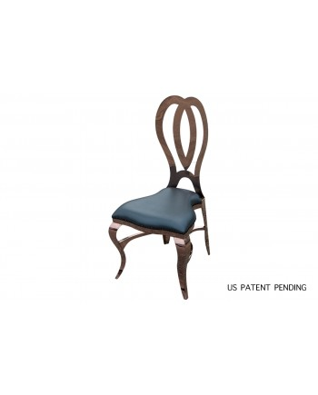 Halexandria Chair (Rose Gold-Pewter)