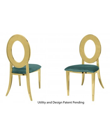 Oz Chair (Gold-Tiffany)