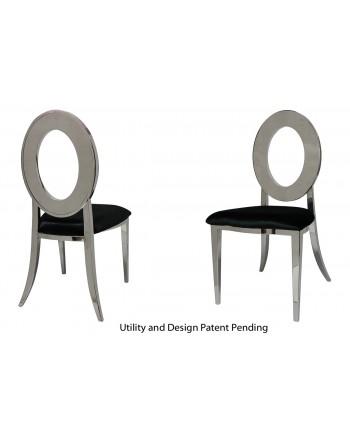 Oz Chair (Silver-Black)