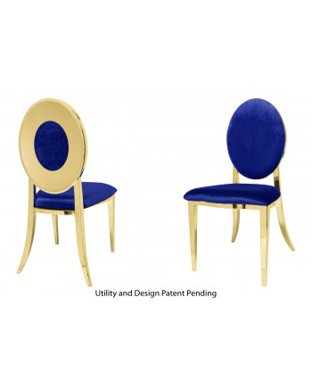 Oz Plus Chair (Gold-Royal)