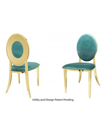 Oz Plus Chair (Gold-Tiffany)