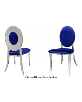 Oz Plus Chair (Silver-Royal)