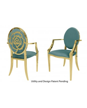 Rose Armchair (Gold-Tiffany)