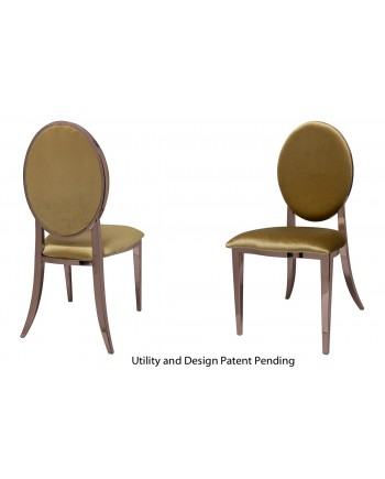 Tiffany Chair (Rose Gold-Gold)