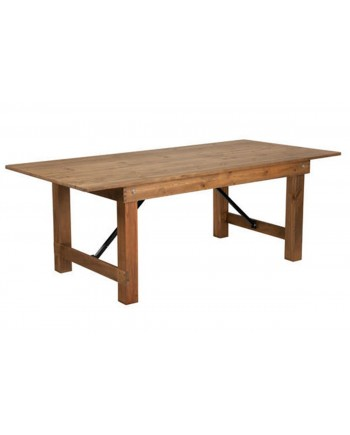 Rustic Chestnut Table