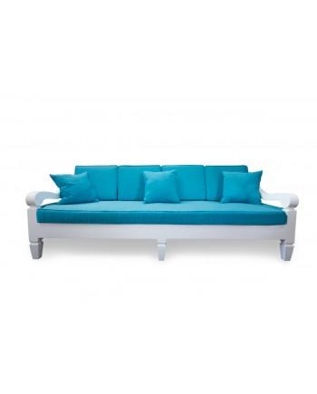 Maze Sofa 8' (Turquoise)
