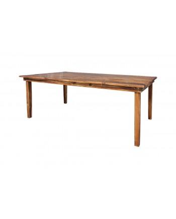 Rustic Dining Table (Royal) Light Burn