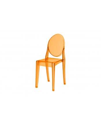Ghost Chair Amber (Armless)