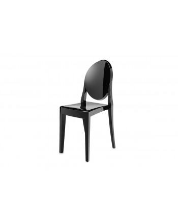 Ghost Chair Black (Armless)