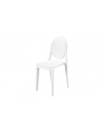 Ghost Chair White (Armless)