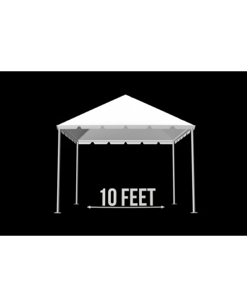 "Tent 10""x 20"" (Clear)"
