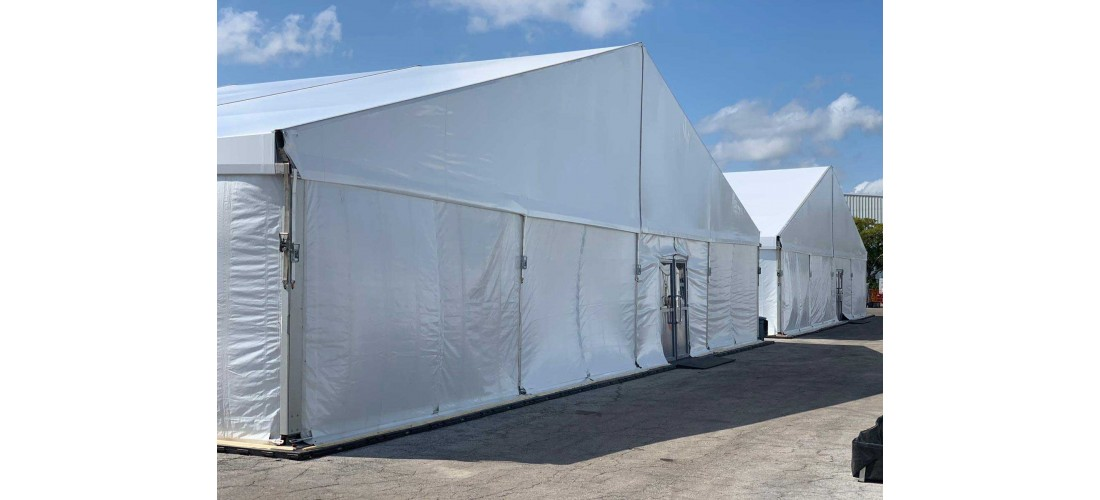 Medical Tents for the COVID-19 Pandemic