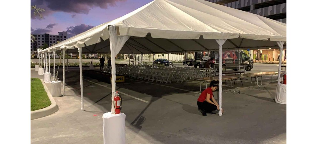 Top 3 Benefits of Tent Rentals for Events in Miami